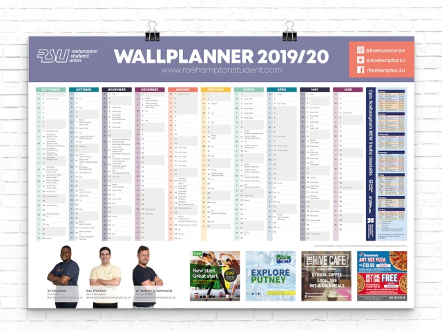 RSU Wallplanner